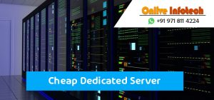 Cheap Dedicated Server with Control Panel and High-Quality Package