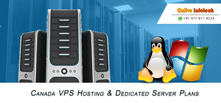 Run Your Business Website Properly with Canada VPS & Dedicated Server Hosting Plans