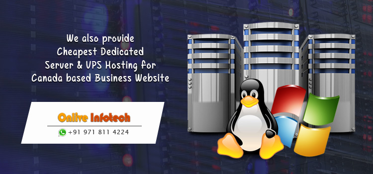 Concern Free Dedicated Server & VPS Hosting for Canada based Online Projects