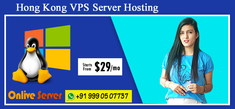 Hong Kong VPS Server Hosting