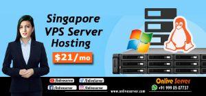 Singapore VPS Server Hosting