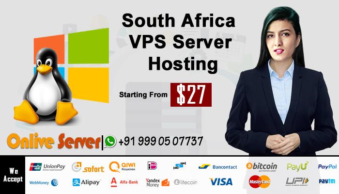South Africa VPS Server Hosting