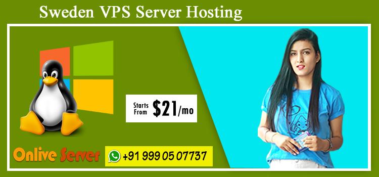 Sweden VPS Server Hosting