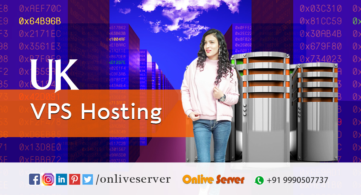 Steps included in a UK VPS Hosting – Onlive Server
